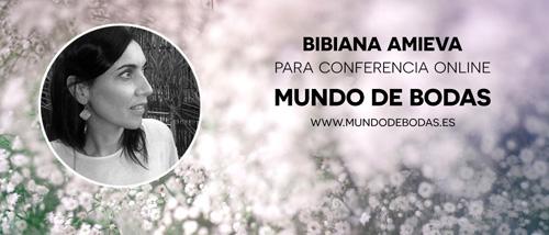 Bibiana Amieva en conferencia online para novias