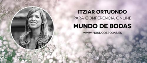 Itziar Ortuondo en conferencia online para novias