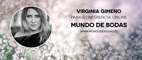 Virginia Gimeno en conferencia online para novias